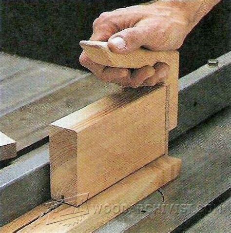 table  push block plans woodarchivist