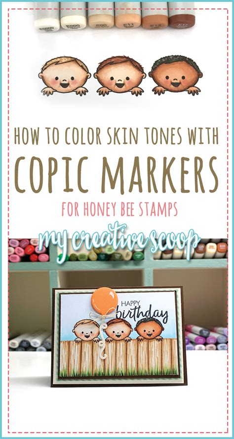 Coloring Using Copic Markers by How To Color Skin Tones Using Copic Markers My Creative