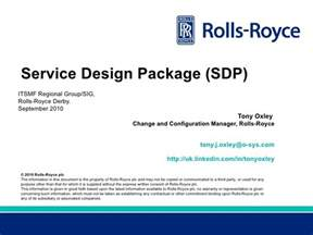 service design itil itsmf regional service design package