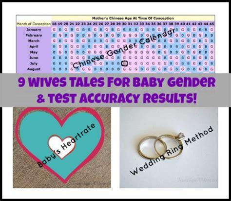 pregnancy wives tales  baby gender prediction