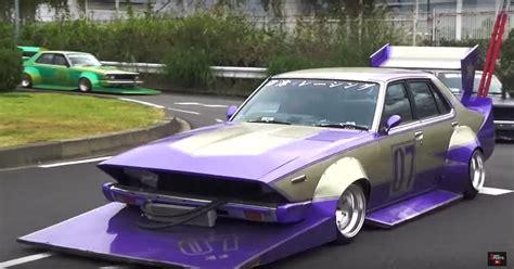 This Parade Of Japanese Bosozoku Cars Will Make You