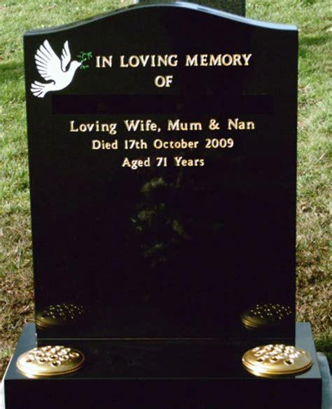 cemetery headstones and gravestones cremation