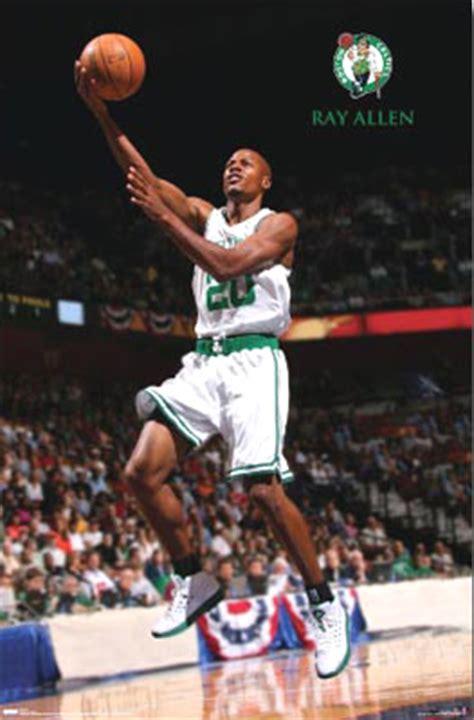 ray allen player poster posters boston celtics basketball