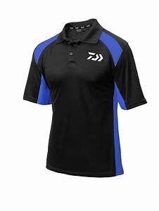New Daiwa Polo Shirts - Black/Red - Black/White - Black ...