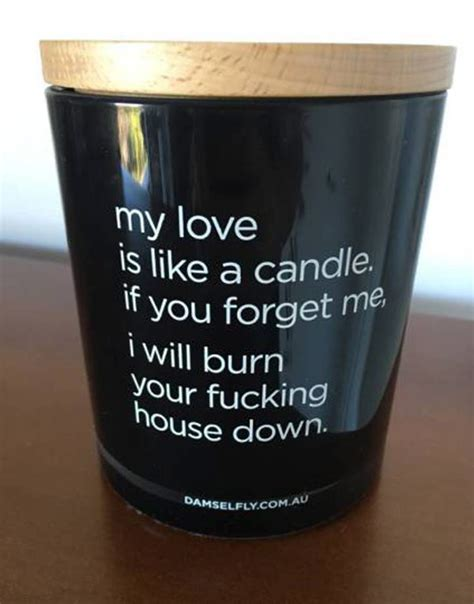 funny candle dismal weird pic quote down burn nicholson jack