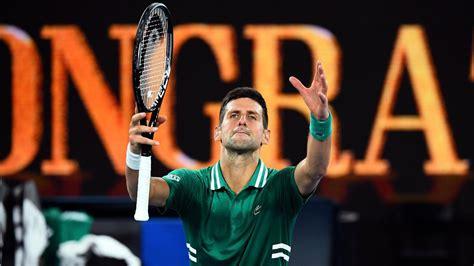 Djokovic repeats zverev win, reaches ninth. Australian Open: 'Amazing champion' Novak Djokovic ...