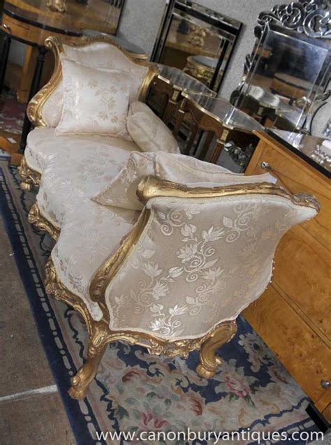 chaise louis 15 louis xv sofa day bed chaise lounge longue chair