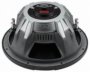 Boss Audio Ar12d Armor 12 U0026quot  Dual 4 Ohm Voice Coil Subwoofer