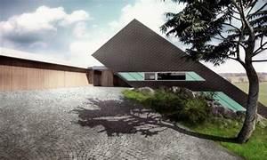 Unique, Architecture, Concept, Edge, House, By, Mobius