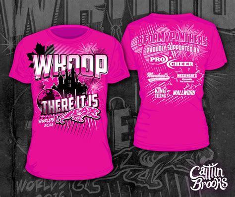 shirt designs   cheerleading worlds
