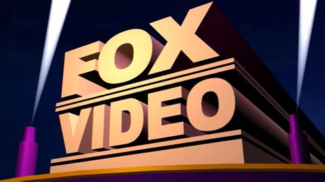 Fox Video Logo For School Project Youtube