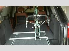 DIY interior bike rack