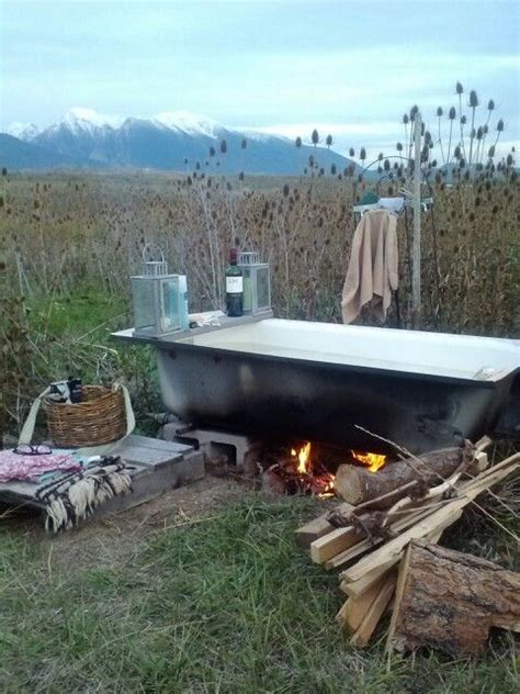 Outdoor Tub by The Bathing Lori Parr Notes To Self