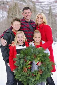 family picture outfits by color series red capturing joy With the best short time holiday family pictures ideas