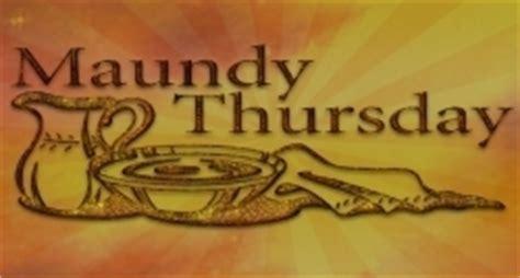 maundy thursday wikidatesorg