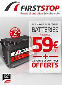 First Stop Pneu : batteries et pneus en promo chez first stop am today ~ Medecine-chirurgie-esthetiques.com Avis de Voitures