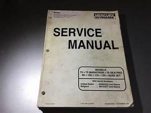 Mercury Mariner 75 Marathon Seapro 90 100 115 125 65  80
