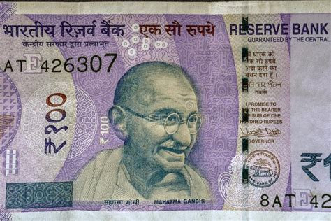 Mahatma Gandhi On 500/-rupee Note Demonetized Bank Note ...