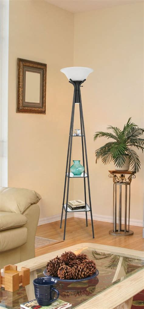 homeofficedecoration contemporary floor lamps  shelves