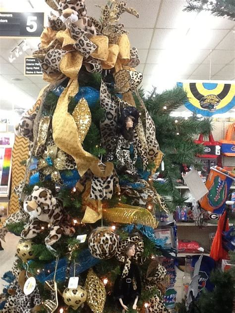 christmas trees jacksonville fl jaguar christmas tree jacksonville jaguars 9186