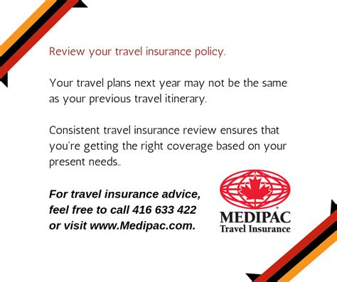 Your coverage is valid for traveling outside your home country with a ticket booked with etihad. Review your travel insurance policy before finalising your purchase decision. Medipac makes use ...