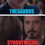 Meme Thesaurus - marvel civil war 1 meme generator imgflip