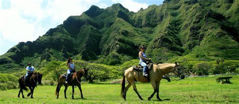 kualoa ranch horseback riding activities private hawaii horse ride beach hawaiian land adventure tour horses oahu trail sea stewardship sustainability