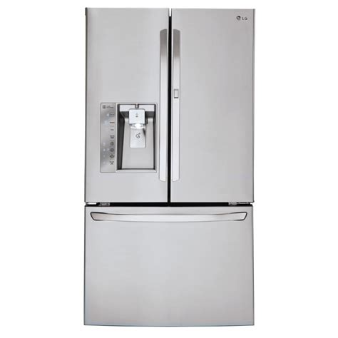 Lg Electronics 30 Cu Ft French Door Smart Refrigerator