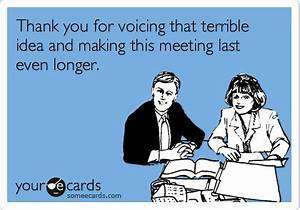 15 Thoughts Anyone Who's Ever Attended a Staff Meeting