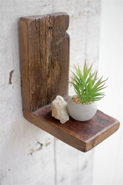 small wall bookshelf recycled wood small wall shelf derektime design build