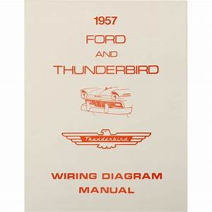 Book - Wiring Diagram Manual - 1957 Ford Car