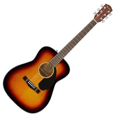 guitar colors fender cc 60s concert acoustic guitar 3 colour sunburst
