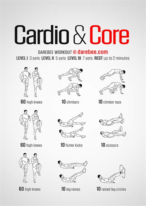 Bedroom Cardio Workout by Cardio Workout