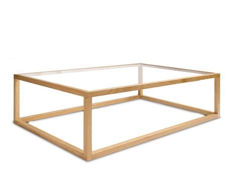 table basse verre bois table basse verre et bois rectangulaire id 233 es de