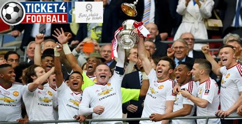 Manchester United Win First FA Cup Since 2004 - Ticket 4 ...