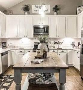 35, Stunning, Small, Farmhouse, Kitchen, Decor, Ideas, Best, For, Your, Farmhouse, Design