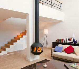 Cheminée Bois Design : focus design fireplaces stoves modern barbecues focus ~ Premium-room.com Idées de Décoration