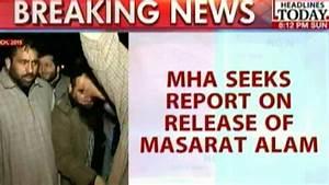 MHA Seeks Report On Release Of Masarat Alam - YouTube