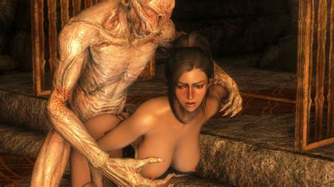 Rule 34 3d Breasts Falmer From Behind Large Breasts Nude