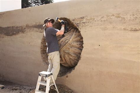 artist andy goldsworthy  rammed earth works  newest