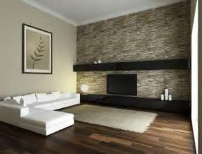 gestaltung wohnzimmerwand paint ideas neutral walls bold fabric wallpaper