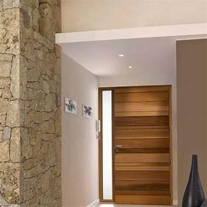 Porte D Entrée En Bois Moderne : porte d 39 entr e en bois les plus beaux mod les pour votre maison c t maison ~ Nature-et-papiers.com Idées de Décoration
