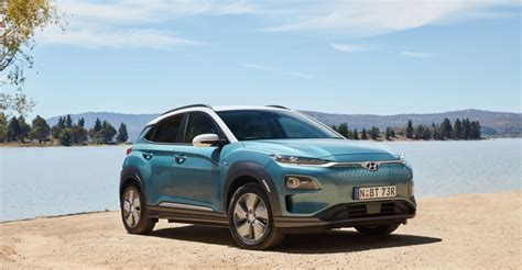 hyundai kona electric pricing  specs caradvice