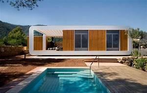 Maison Préfabriquée En Bois : maison contemporaine pr fabriqu e en bois ~ Premium-room.com Idées de Décoration