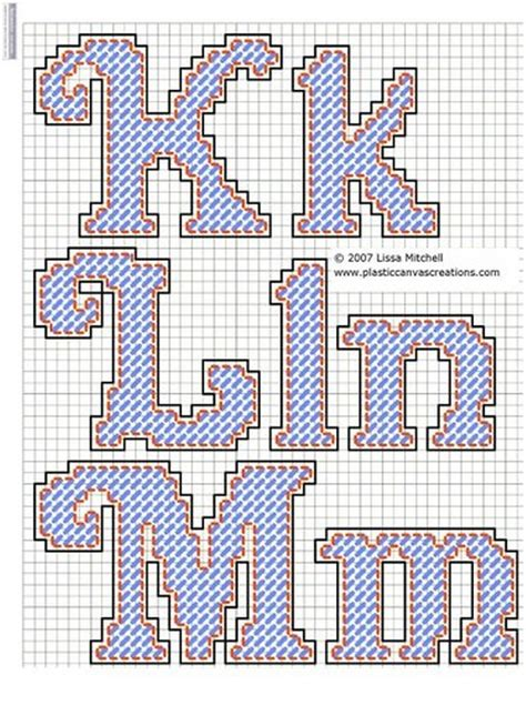 alphabet letters cursive   plastic canvas alphabet plastic canvas plastic canvas patterns