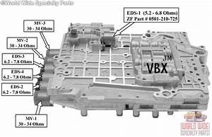 Skoda Zf5hp19 Valve Body Without Location Bolts For Bolt