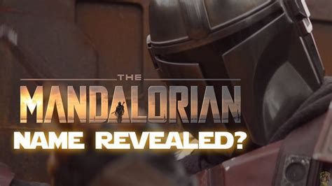 Pedro Pascal Reveals The Mandalorian's Real Name!? - YouTube