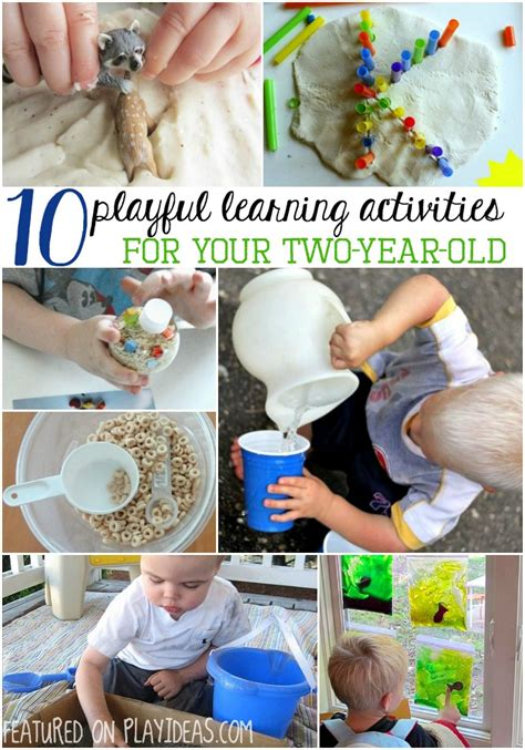 playful learning activities   year olds