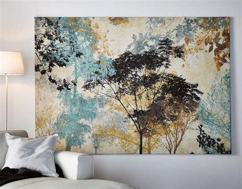 Ikea Bilder Auf Leinwand leinwand bild 135x90x5 b 196 ume natur gem 196 lde lounge ikea
