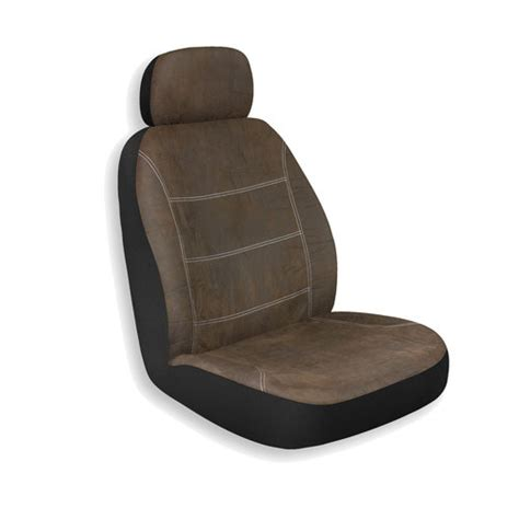 who rae rustic brown bucket seat cover interior car